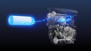 1,6-l-Dreizylinder-Wasserstoffmotor von Toyota